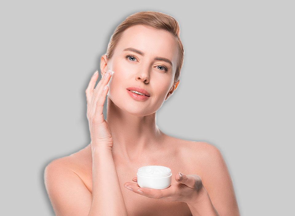cosmetici personalizzati viso trattamento antiage