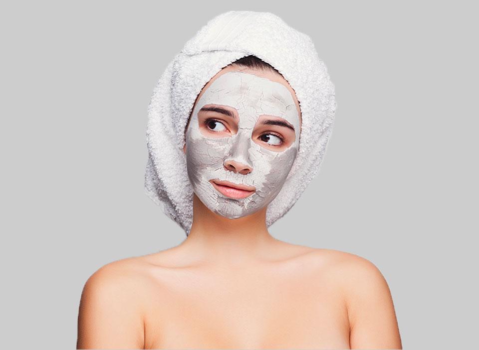 Cosmetici personalizzati viso trattamento esfoliante