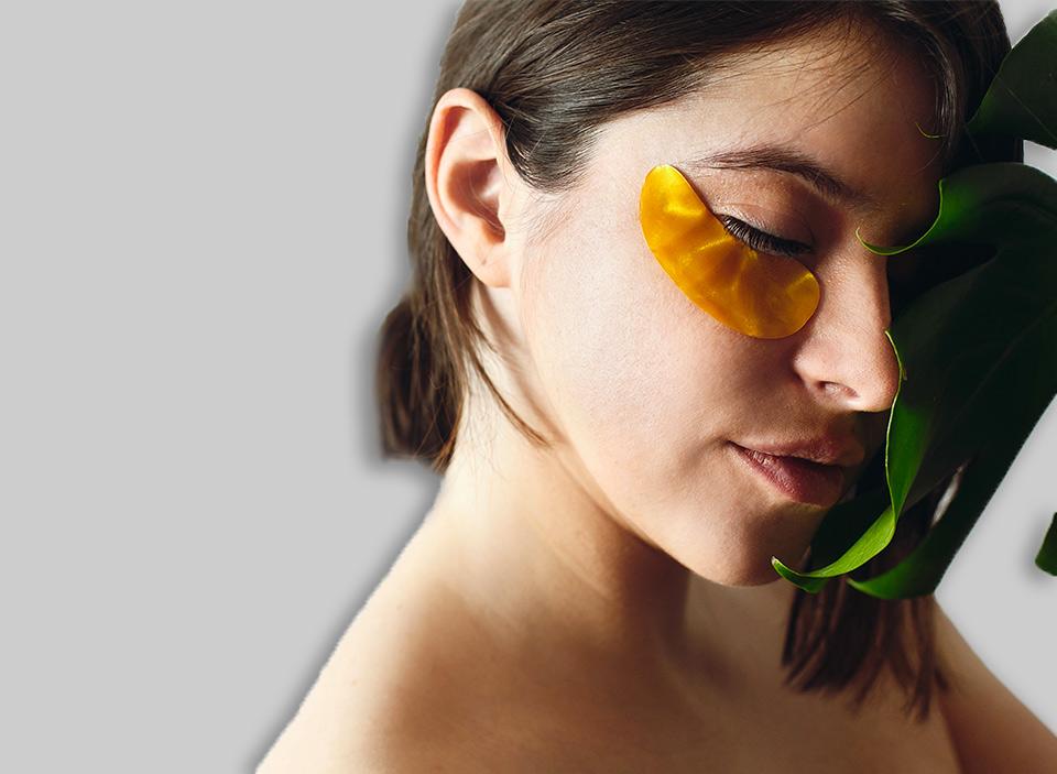 cosmetici personalizzati viso oro